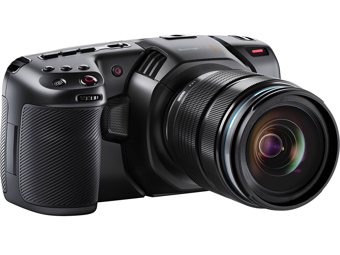 Blackmagic Design Pocket Cinema Camera 4K front