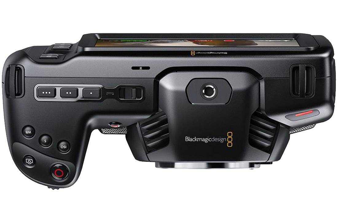 Blackmagic Design Pocket Cinema Camera 4K top