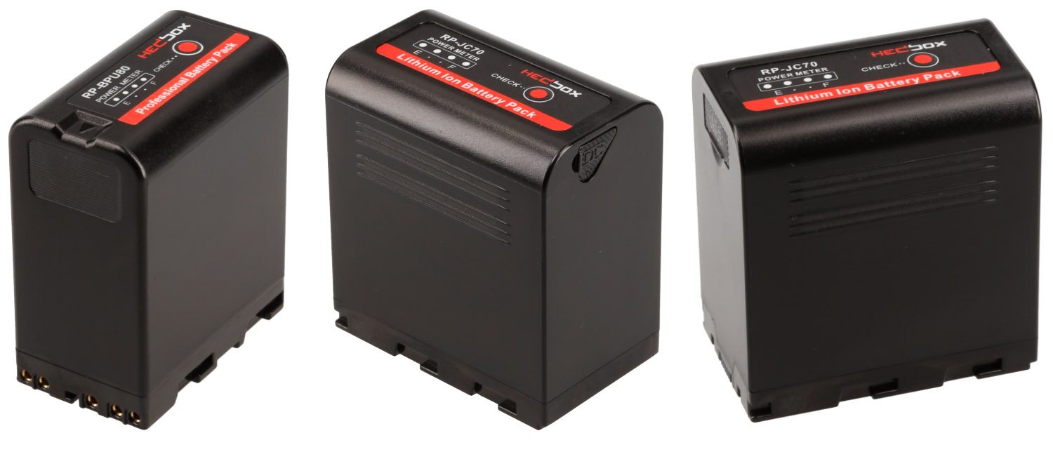 Hedbox DV Battery Packs